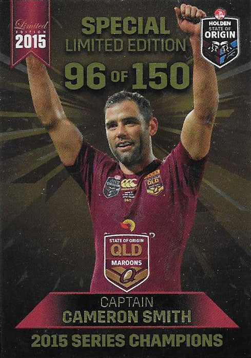 Cameron Smith, Qld, 2015 ESP Limited NRL