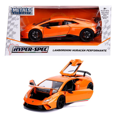 2017 Lamborghini Huracan Performante Hyperspec, 1:24 Diecast Vehicle