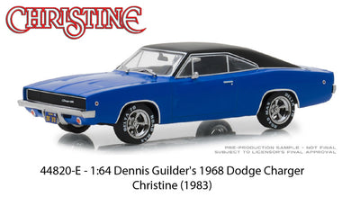 Christine 1968 Dodge Charger, 1:64 Diecast Vehicle