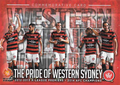 The Pride of Western Sydney, Commemorative Card, 2016 Tap'n'Play