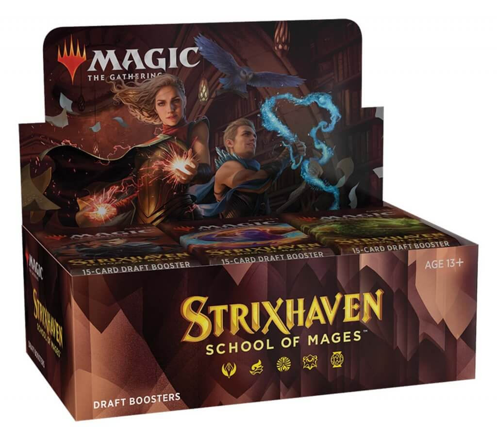 MAGIC: THE GATHERING Strixhaven: School of Mages- Draft Booster Packs