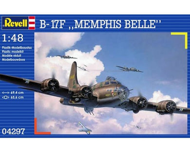 REVELL BOEING B-17F Memphis Belle 1:48 Scale MODEL KIT