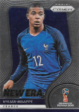 Kylian Mbappe, New Era, 2018 Panini Prizm World Cup Soccer
