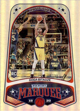 Goga Bitadze, RC, Marquee, 2019-20 Panini Chronicles NBA Basketball