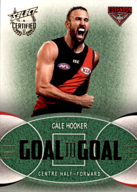 Cale Hooker, Goal to Goal, 2017 Select AFL Certified
