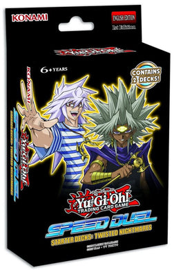 YU-GI-OH! TCG MILLENNIUM Speed Duel Starter Deck - Match of the Millennium & Twisted Nightmare