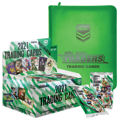 2021 TLA Traders NRL Rugby League Box & Album