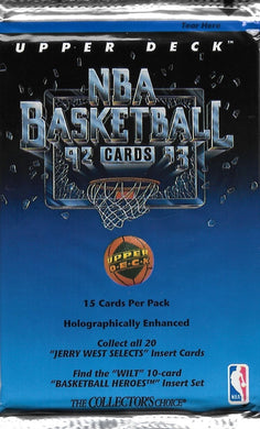 1992-93 Upper Deck Basketball NBA Pack