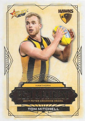 Tom Mitchell, Best & Fairest, 2018 Select AFL Footy Stars