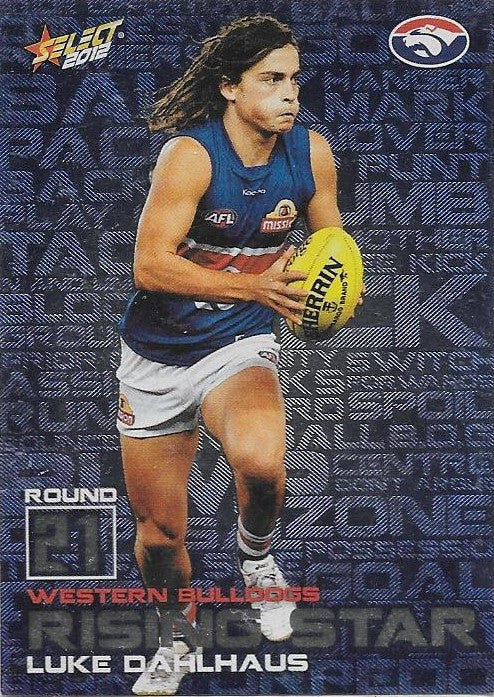 Luke Dahlhaus, Rising Star, 2012 Select AFL Champions