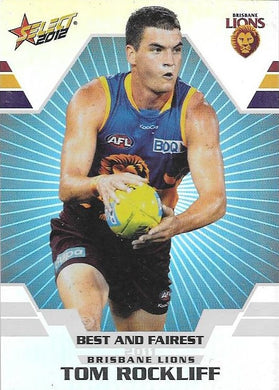 Tom Rockliff, Best & Fairest, 2012 Select AFL Champions