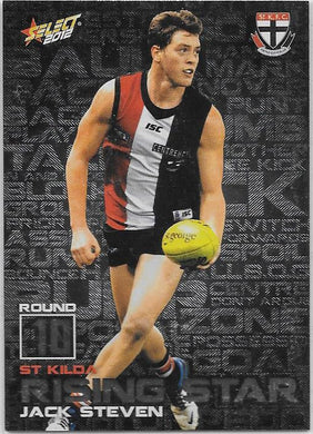 Jack Steven, Rising Star, 2012 Select AFL Champions