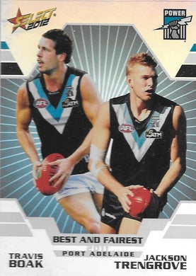 Boak & Trengrove, Best & Fairest, 2012 Select AFL Champions