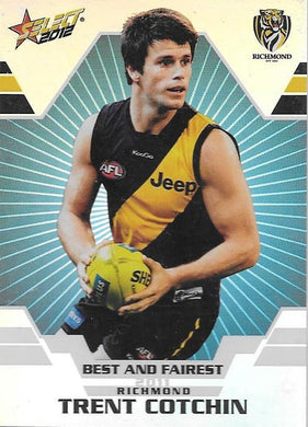 Trent Cotchin, Best & Fairest, 2012 Select AFL Champions