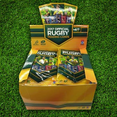 2017 Tap'n'play Official ARU Rugby, Sealed Box of Cards