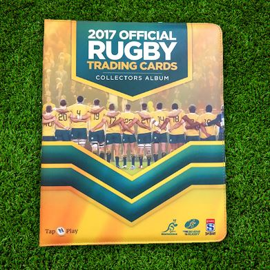 2017 Tap'n'play Official ARU Rugby Folder