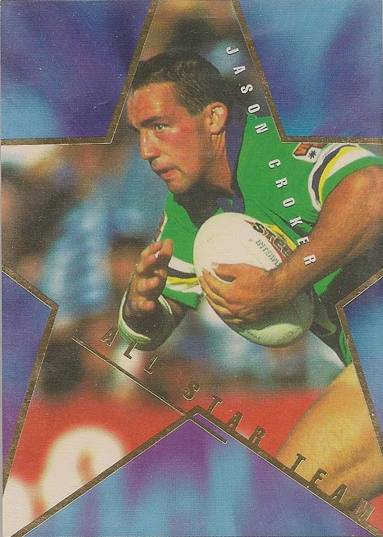 Jason Croker, All Star Team, 1996 Dynamic NRL Series 1