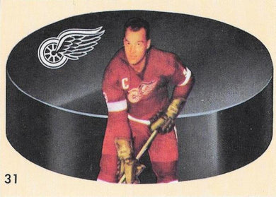 Gordon Howe, 1962-63 Reprint, 1993-94 Parkhurst Hockey