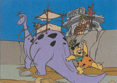Return of The Flintstones, Tekchrome insert, 1994 Cardz (NS)