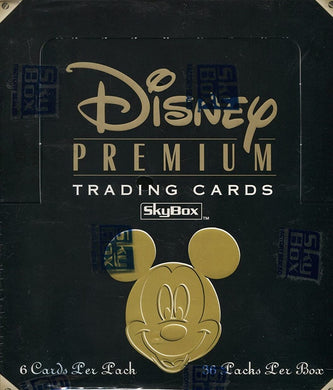 1995 Skybox, Disney Premium Trading Cards Sealed Box