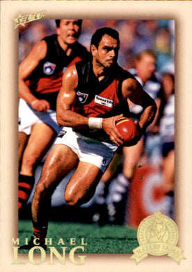 Michael Long, HFLE191, Hall of Fame Series 4, Red Back, 2012 Select Eternity AFL