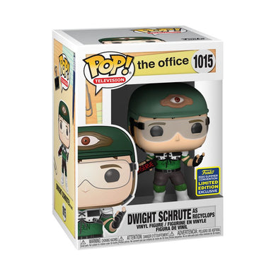 The Office - Dwight Schrute as Recyclops v2 SDCC 2020 US Exclusive Pop! Vinyl [RS]