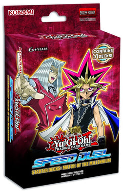 YU-GI-OH! TCG TWISTED Speed Duel Starter Deck - Match of the Millennium & Twisted Nightmare