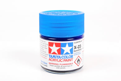 TAMIYA ACRYLIC MINI X-23 CLEAR BLUE 10ml