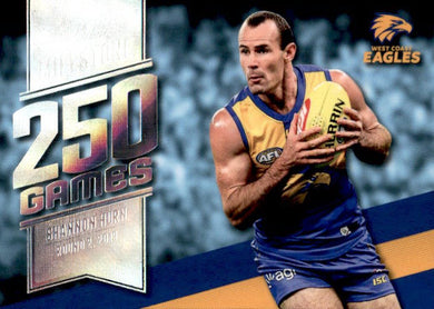 Shannon Hurn, 250 Games Milestone, 2020 Select AFL Footy Stars