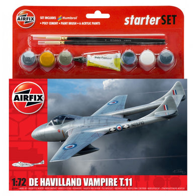 AIRFIX DE HAVILLAND VAMPIRE TII Model Kit