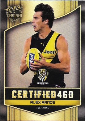 Alex Rance, Certified 460, 2017 Select AFL Certified