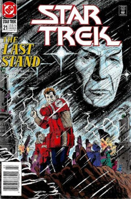 Star Trek The Last Stand #21 Comic