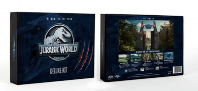 JURASSIC WORLD - DELUXE KIT - COLLECTORS BOX