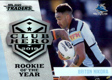 Briton Nikora, Club Hero, 2020 TLA Traders NRL