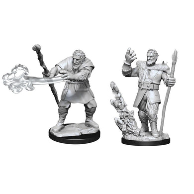 D&D Nolzurs Marvelous Unpainted Miniatures Male Firbolg Druid