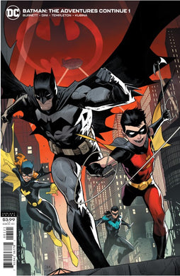 Batman, The Adventures Continue #1 Comic Variant Cover