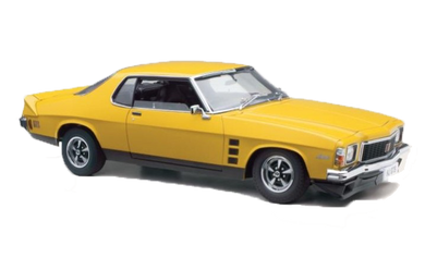 Classic Carlectables Holden HJ GTS Monaro Absinth Yellow 1:18 Diecast Model Car