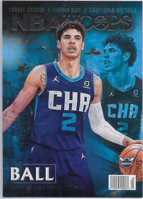 LaMelo Ball, RC, Rookie Special, 2020-21 Panini Hoops Basketball NBA