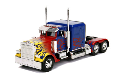 Transformers - Optimus Prime T1, 1:24 Scale Diecast Hollywood Ride