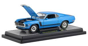 1972 Ford Mustang Boss 302, M2 Machines, 1:24 Diecast Vehicle