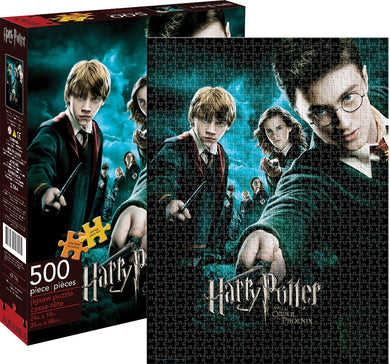 Harry Potter Order of the Pheonix 500 Piece Jigsaw Puzzle by Aquarius