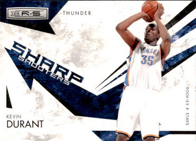 Kevin Durant, Sharp Shooters, 2009-10 Panini Rookies & Stars Basketball NBA