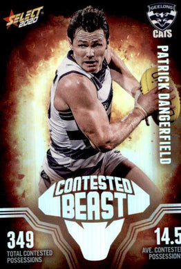 Patrick Dangerfield, Contested Beasts, 2020 Select AFL Footy Stars