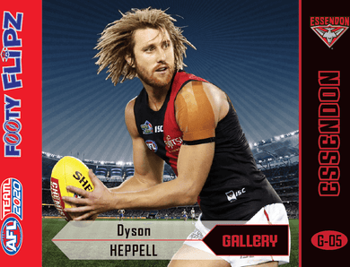 Dyson Heppell, Footy Flipz Gallery, 2020 Teamcoach AFL