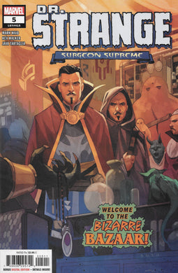 Dr Strange Surgeon Supreme #5 Comic