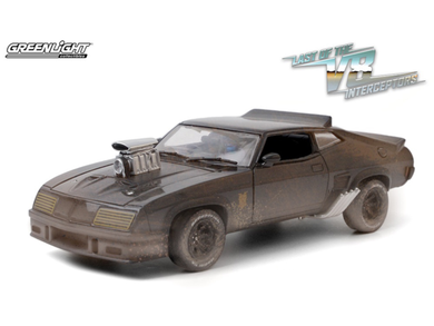 Weathered Last of the V8 Interceptors, 1973 Ford Falcon XB, 1:24 Diecast Vehicle