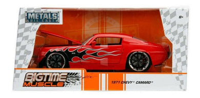 1971 Chevy Camaro, Bigtime Muscle, 1:24 Diecast Vehicle