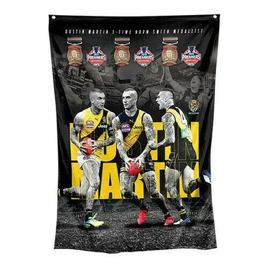 Dustin Martin Triple Crown Norm Smith Wall Flag