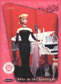 Barbie, Celebrating 36 years, Base set of 110 cards, 1996 Tempo