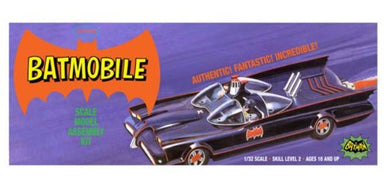 Classic Batmobile, Plastic Model Kit, 1:32 Scale
